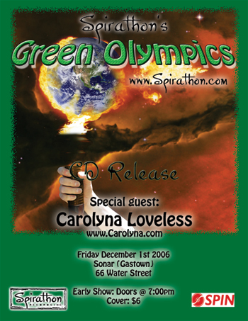 Green Olympics Poster